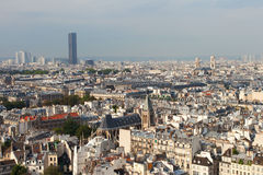 Linia horyzontu Paryż. zdjęcie royalty free