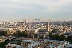 Linia horyzontu Paryż. obraz stock