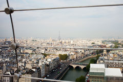 Linia horyzontu Paryż. obrazy stock
