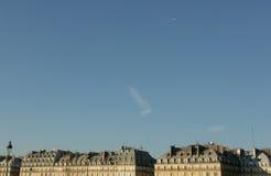 linia horyzontu paryża Obraz Stock