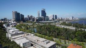 Linia horyzontu Perth, zachodnia australia zbiory