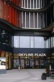 Linia horyzontu placu zakupy centrum handlowe Frankfurt Obraz Royalty Free