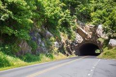 Linia horyzontu Prowadnikowy tunel Obraz Royalty Free