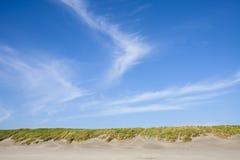 Linia horyzontu przy fortu Stevens parka narodowego plażą Obraz Stock