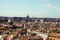 Linia horyzontu Rzym Zdjęcia Royalty Free