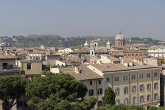 Linia horyzontu Rzym, Włochy Zdjęcie Stock