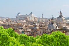 Linia horyzontu Rzym, Włochy Zdjęcia Stock