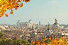 Linia horyzontu Rzym, Włochy Zdjęcie Royalty Free