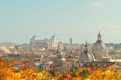 Linia horyzontu Rzym, Włochy Fotografia Royalty Free