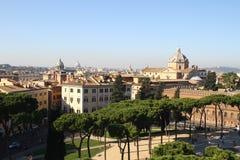 linia horyzontu rzymu Zdjęcia Stock