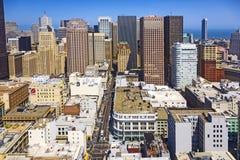 Linia horyzontu San Fransisco śródmieście Fotografia Stock