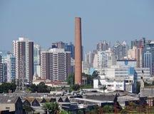 Linia horyzontu Sao Caetano robi Sul Zdjęcia Royalty Free