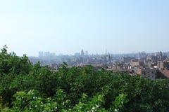 Linia horyzontu stary Cairo Obraz Royalty Free