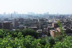 Linia horyzontu stary Cairo Zdjęcia Royalty Free
