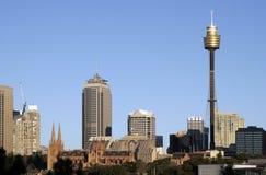 linia horyzontu Sydney Obrazy Stock