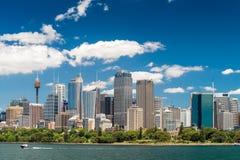 linia horyzontu Sydney miasta Fotografia Royalty Free