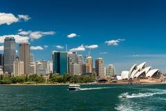 linia horyzontu Sydney miasta Obrazy Royalty Free