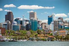 linia horyzontu Sydney miasta Obraz Stock