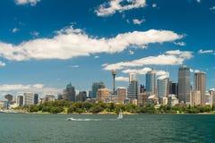 linia horyzontu Sydney miasta Obrazy Stock