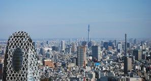 linia horyzontu Tokyo Obrazy Royalty Free