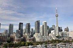 linia horyzontu Toronto Obraz Royalty Free