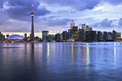 linia horyzontu Toronto Zdjęcie Royalty Free