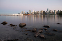 linia horyzontu Vancouver Zdjęcie Stock