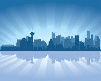 linia horyzontu Vancouver Zdjęcia Stock