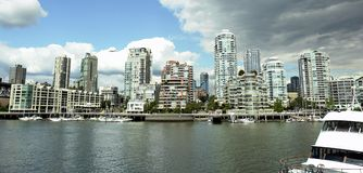 linia horyzontu Vancouver Fotografia Royalty Free