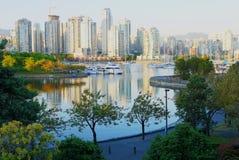 Linia horyzontu Vancouver zdjęcie royalty free
