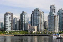 linia horyzontu Vancouver Obraz Royalty Free
