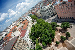 linia horyzontu Vienna Fotografia Royalty Free