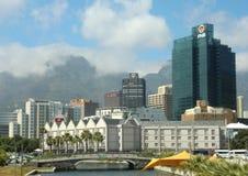 Linia horyzontu w centrum Capetown Południowa Afryka Zdjęcie Royalty Free
