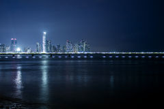 Linia horyzontu w Panama Zdjęcia Stock