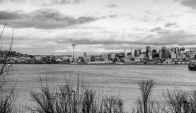 Linia horyzontu W Seattle 5 Zdjęcia Royalty Free