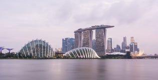 Linia horyzontu w Singapur zdjęcie royalty free