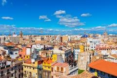 Linia horyzontu Walencja Hiszpania zdjęcie stock