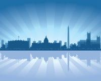 linia horyzontu Washington ilustracji