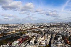 Linia horyzontu widok Paryż, Francja Zdjęcia Royalty Free