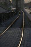 linia kolejowa Obraz Royalty Free