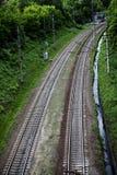 Linia kolejowa Zdjęcia Stock