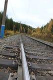 linia kolejowa Zdjęcia Royalty Free