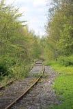 linia kolejowa Zdjęcie Royalty Free
