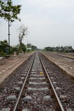 linia kolejowa Fotografia Stock