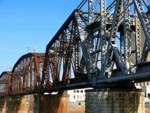 linia kolejowa bridge Zdjęcia Royalty Free