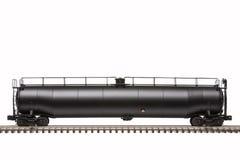 Linia kolejowa Cysternowy samochód Obraz Royalty Free