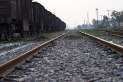 Linia kolejowa India Obrazy Stock