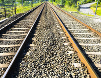 Linia kolejowa, linia kolejowa Obrazy Stock