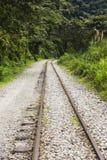 Linia kolejowa Mach Picchu Zdjęcia Royalty Free