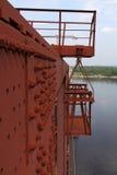 Linia kolejowa most 2 Zdjęcia Royalty Free